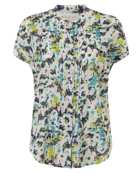 East Penny Floral Blouse