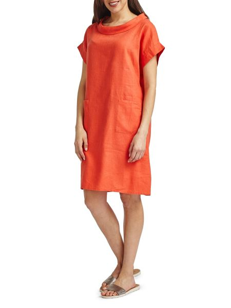 East Bardot Neck Dress