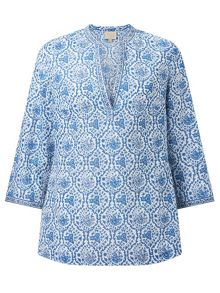 East Sahara Print Blouse