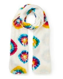 East Silk Multi Bandhini Scarf