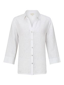 Linen Fitted Shirt