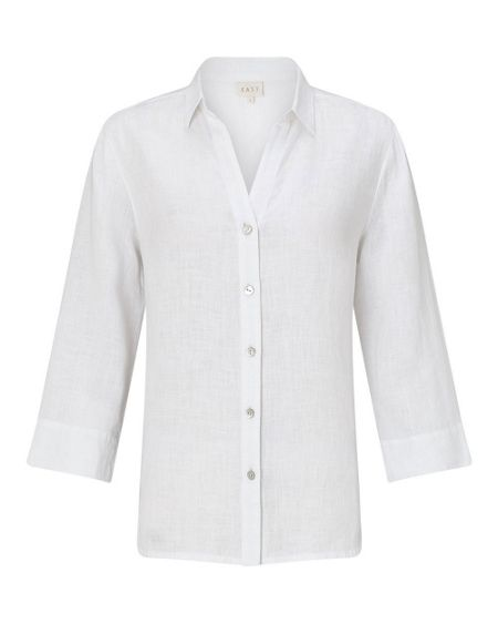 East Linen Fitted Shirt