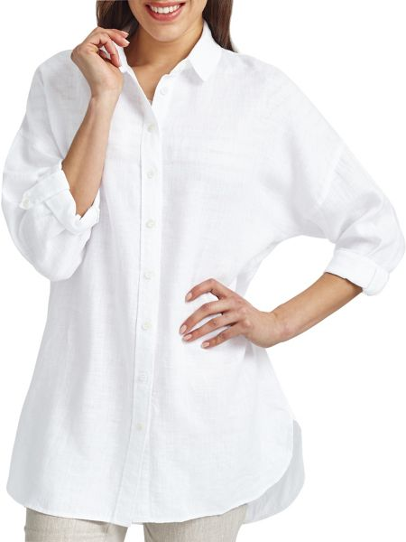 East Oversized Linen Shirt