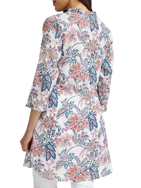 East Tropical Pintuck Tunic