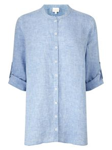 East X Dye Oversized Linen Shirt
