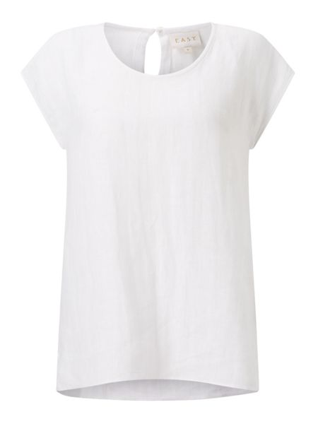 East Linen Shell Top