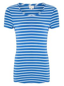 East Stripe Basic T-Shirt