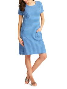 East Stripe Rib Jersey Dress