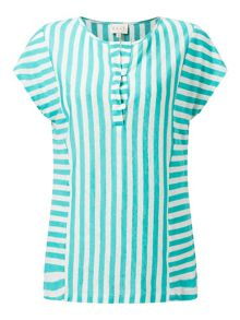 East Stripe Jersey Top
