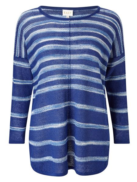 East Space Dye Stripe Jumper