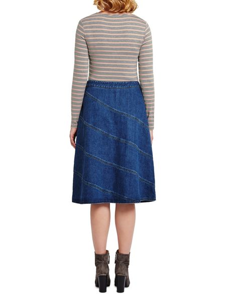 East Cut About Denim Skirt