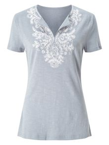 East Embellished Tee