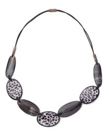 East Animal Print Necklace