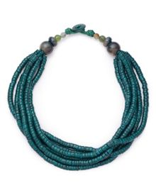 East Layered Beaded Necklace