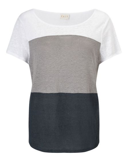 East Colourblock Jersey Top