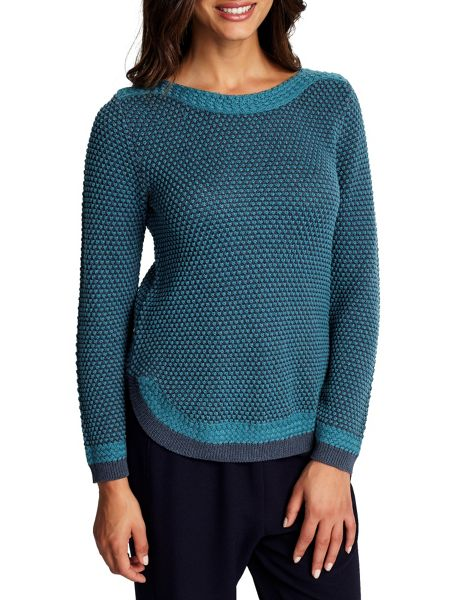 East Textured Knit Sweater