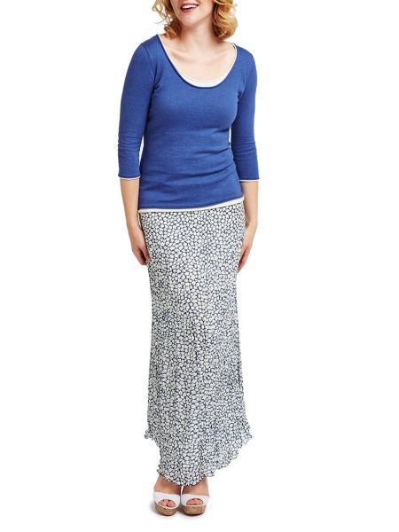 East Vida Pleat Maxi Skirt