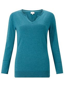 Notch Neck Jumper