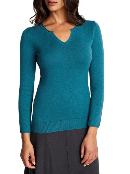 East Notch Neck Jumper