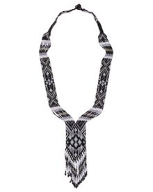 East Woven Beaded Necklace