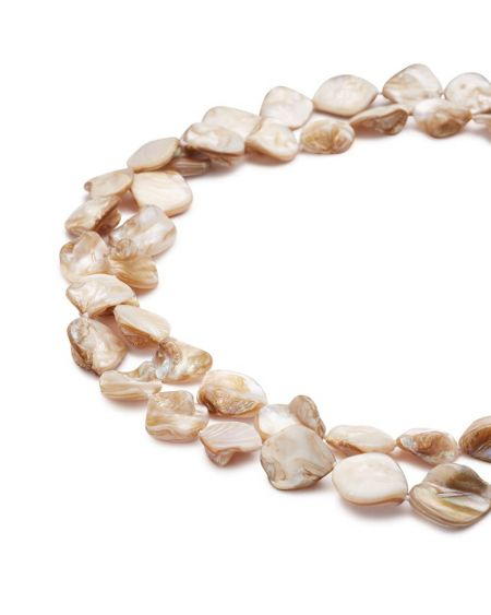 East Square Pearl Necklace