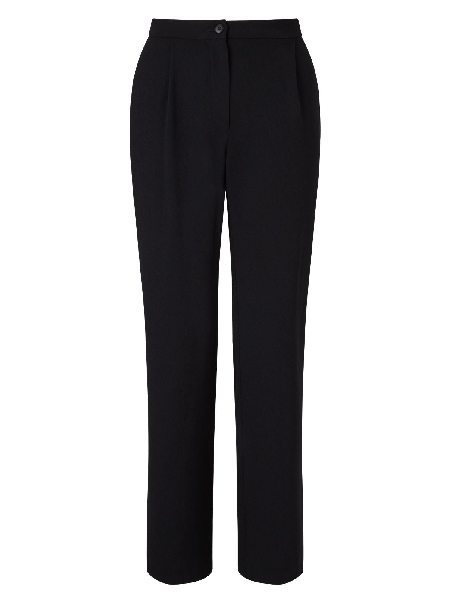 East Crepe Walking Trouser, Black
