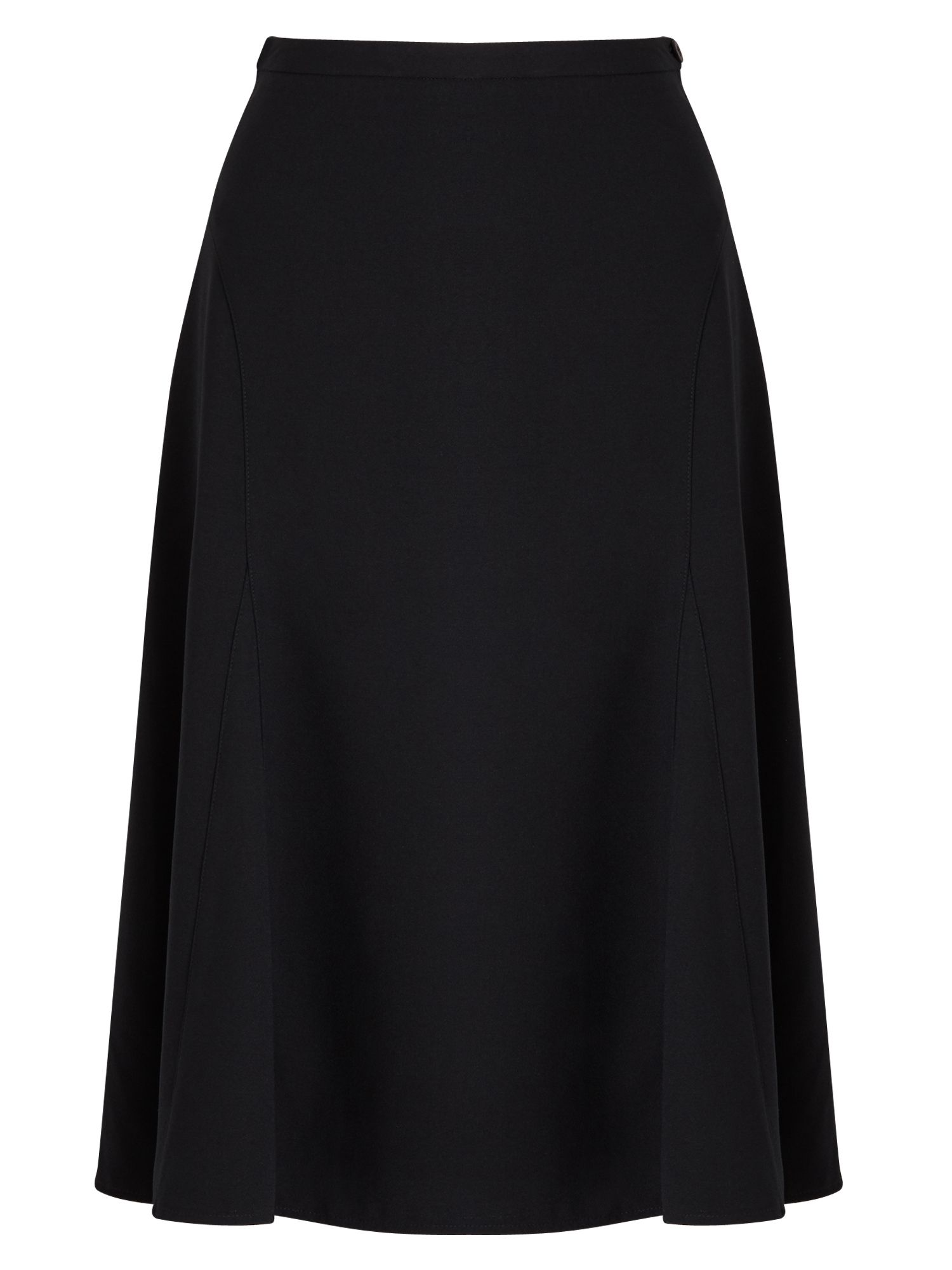 East Crepe Skirt, Black