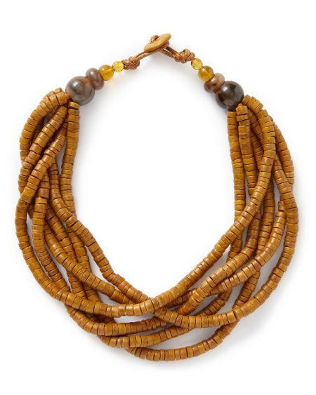 East Layered Bead Necklace