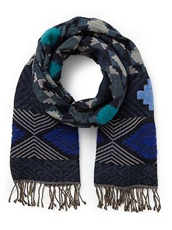 Aztec Woven Scarf