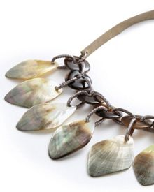 East Shell Drop Necklace