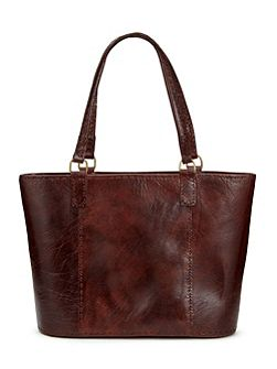 Joan Leather Bucket Bag