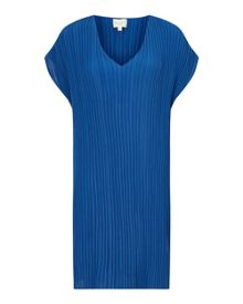 East V Neck Pleat Tunic