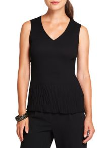 East Pleated Vest Top