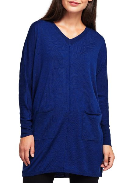 East Merino V Neck Jumper