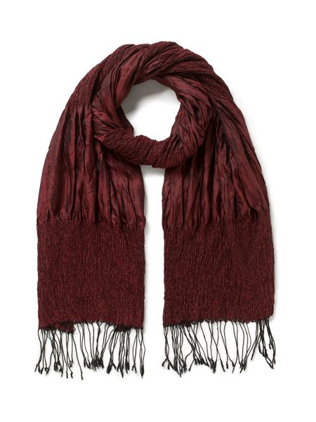 East Silk Ruched Scarf