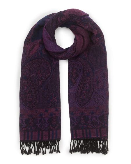 East Paisley Woven Scarf