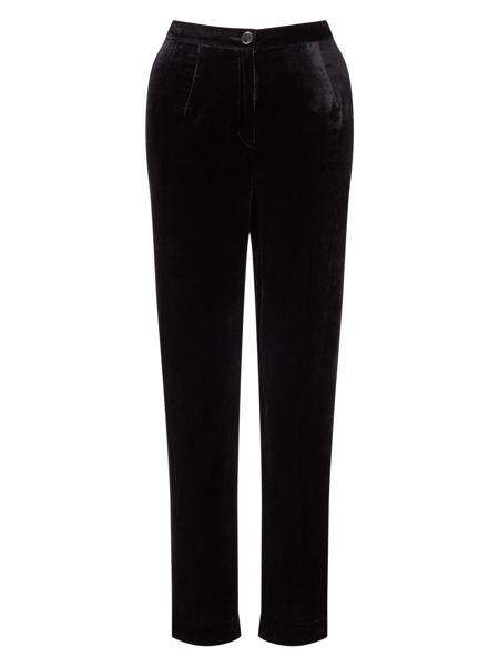 East Silk Velvet Trouser