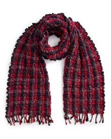 East Woven Ruched Scarf