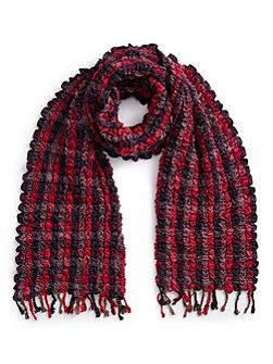 Woven Ruched Scarf