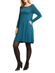 East Merino Swing Dress