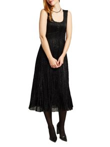 East Sparkle Pleat Dress