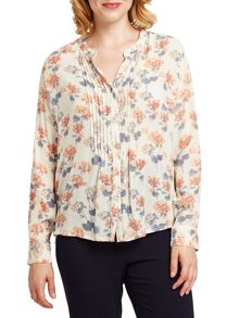East Amelie Print Blouse