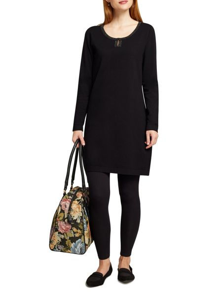 East Beaded Jersey Tunic