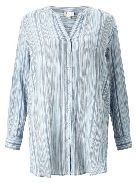 East Stripe Cheesecloth Shirt