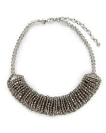 East Faceted Bib Necklace