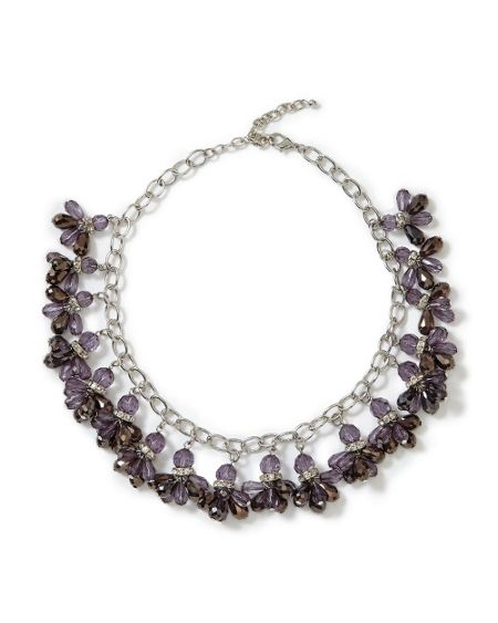 East Reena Cluster Necklace