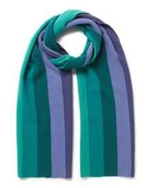 East Stripe Knitted Scarf