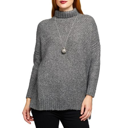 East Lurex Chunky Knit Jumper