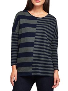 East Combination Colourblock Top