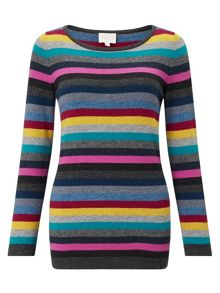 East Multi Stripe Jumper